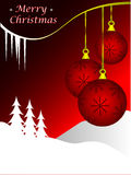 Christmas background illustration Stock Image