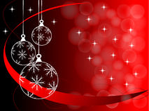 Christmas background illustration Royalty Free Stock Photo