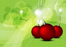 Christmas background illustration Royalty Free Stock Image