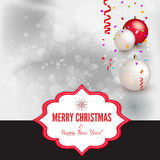 Christmas Background - Illustration Royalty Free Stock Photo
