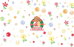 Christmas background. This Illustration Image used for Christmas card background Stock Photography