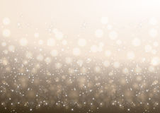 Christmas background. Illustration of Christmas background with stars and glitters Royalty Free Stock Image