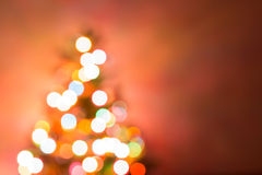 Christmas background, image blur bokeh defocused lights Stock Photo