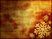 Christmas Background In Gold Tones Stock Photos
