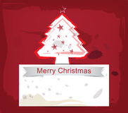 Christmas background ink paint style Stock Photo