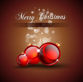 Christmas Background for Invitation Flyers Royalty Free Stock Photography