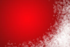 Christmas background with left-down free place Stock Images
