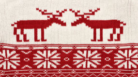 Christmas background made of reindeer Royalty Free Stock Images