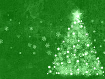 Christmas background with magic tree Royalty Free Stock Photo