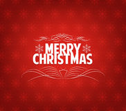 Christmas background. Merry christmas background and greeting card design Stock Images