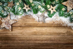 Christmas background in natural style Stock Photo