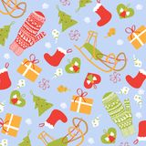 Christmas background. New year  graphic illustration design Royalty Free Stock Photos