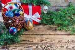 Christmas background 03 Stock Photos