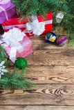 Christmas background 06 Stock Image