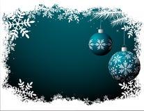 Christmas background - Night scene Royalty Free Stock Photo