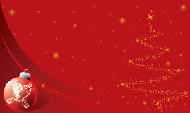 Christmas background with ornament. Abstract Christmas background with ornament Stock Photos