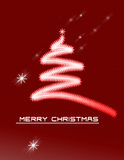 Christmas Background with Ornaments Stock Photography