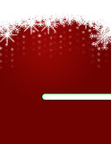 Christmas Background with Ornaments Stock Photos