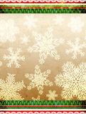 Christmas background with paper texture Stock Image