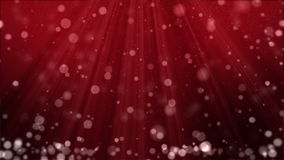 Christmas Background with Particles and Spotlights. stock footage