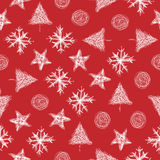 Christmas Background pattern. For wrapping and greeting card Stock Photography