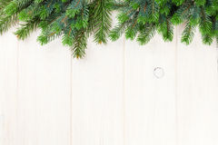 Christmas background with pine tree Royalty Free Stock Photo