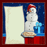 Christmas background with place for text Royalty Free Stock Image