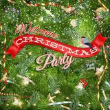 Christmas background with place for text. EPS 10 Royalty Free Stock Photo