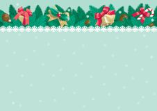 Christmas background with place for text Stock Photography