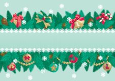 Christmas background with place for text Stock Images