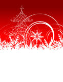 Christmas background with place for your text Stock Image