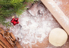 Christmas background with place for your text Stock Photo