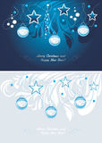 Christmas background. Postcard Stock Images