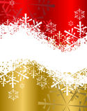 Christmas background in red Royalty Free Stock Images