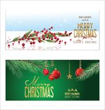 Christmas background red balls with decorations. Illustration vector illustration