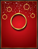 Christmas Background red. Christmas background for seasonal cards and event, posters Stock Illustration