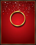 Christmas Background red Royalty Free Stock Photo