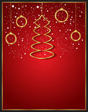 Christmas Background red Stock Photos