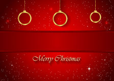 Christmas Background red Royalty Free Stock Photos