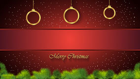 Christmas Background red. Christmas background for seasonal cards and event, posters Vector Illustration