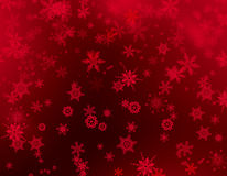 Christmas background red Stock Images