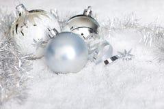 Christmas background with reflective background stock photo