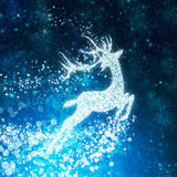 Christmas background ,reindeer design Royalty Free Stock Photo