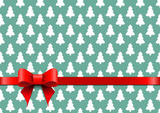 Christmas background in retro style Stock Photography