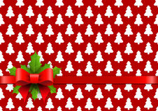 Christmas background in retro style Royalty Free Stock Photo