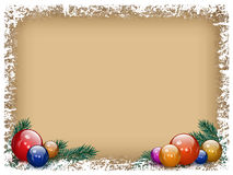 Christmas background in retro style Royalty Free Stock Photos