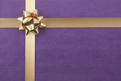 Christmas background with ribbon Royalty Free Stock Photography