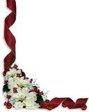 Christmas Background Ribbons Royalty Free Stock Photography