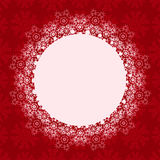 Christmas Background with Round Place Stock Photos