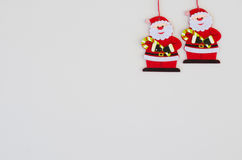 Christmas background. With Santa Claus Stock Image